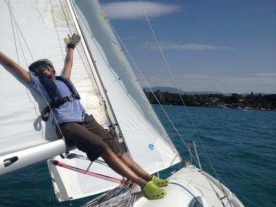 Ecole de voile Nyon permis bateau initiation cours
