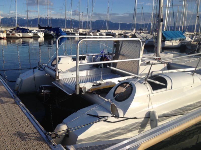 cours de navigation voile moteur pagaie pour personnes en situation de handicap